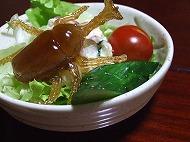 カブト虫サラダ